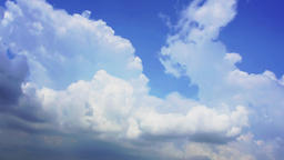 Time Laps Clouds Forming GIF