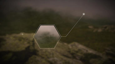 Clean Minimal Hexagonal Call-Out After Effects Template After Effectsテンプレート