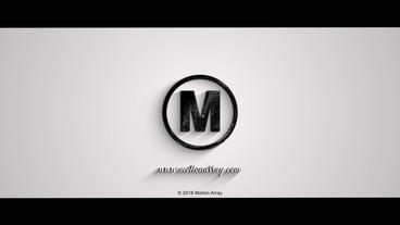 Black And Gold Logo After Effects templates