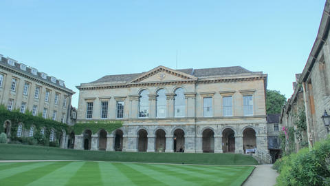 Oxford- Worcester College Old Library Live Action