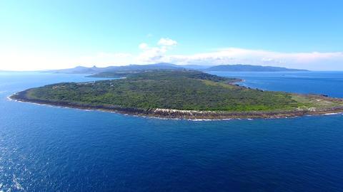 Aerial view of kenting national park coastline. Taiwan影片素材