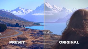 Cinematic Color Presets Premiere Pro Template