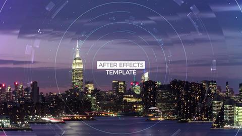 Digital Parallax Slideshow After Effects Template