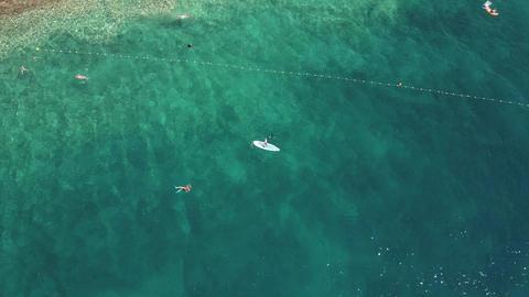 Rocky beach of the Adriatic sea Footage