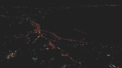 Nesebar ,Bulgaria Night Footage