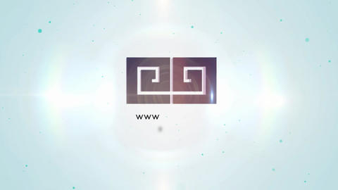 3D Elegant Corporate Rainbow Logo After Effects Template