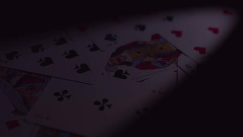 Casino animation text Stock Video Footage