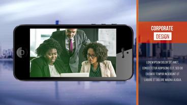 Gadget Corporate Slideshow Premiere Pro Template