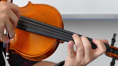 a musician plays a violin, classic turkish music Live Action