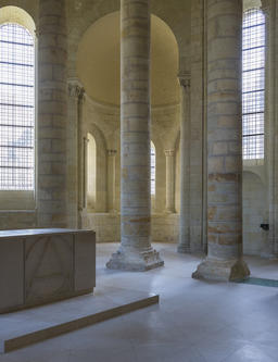Abbey of Fontevraud Pillars Photo