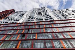 Architectural Building Calypso Rotterdam Fotografía