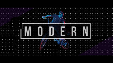 MODERN SLIDESHOW 프리미어 프로 템플릿