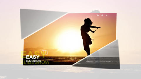 Easy Slideshow After Effects Template