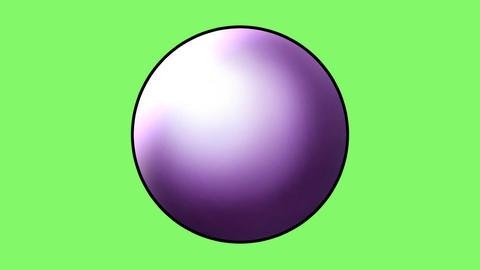 Quartz ball 8 Animation