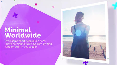 Fancy Mininmal Presentation After Effects Template