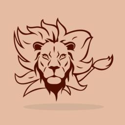 Lion Symbol ベクター