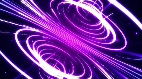 Streaks Space Warp Animation