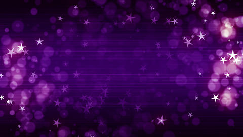 Purple Fashion Stars Animation