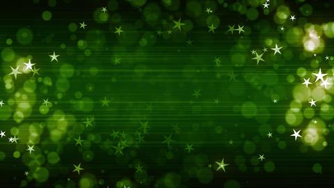 Green Fashion Stars Animation