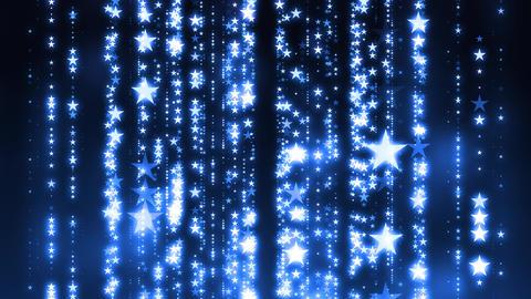 String Light Stars Animation