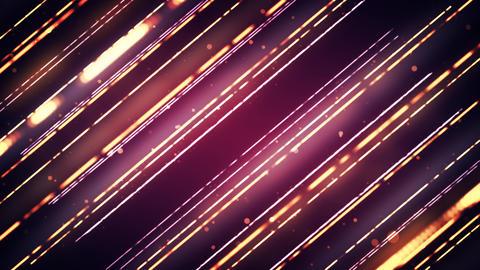 Stylish Light Strings Animation