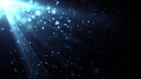 Cool Rays Particles Animation