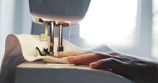 Old Sewing Machine Footage