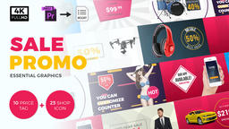 Sale Promo Motion Graphics Template