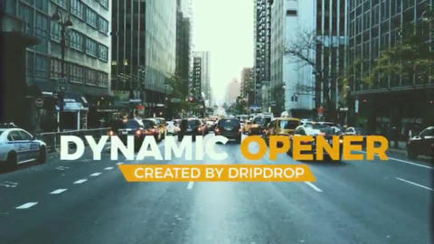 Dynamic Urban Sliadeshow After Effects Template