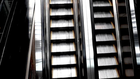 Escalators moving stairs ビデオ