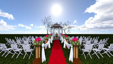 Wedding Ceremony, Stock Animation