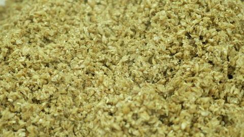 Boiled malt in beer production Fotografía