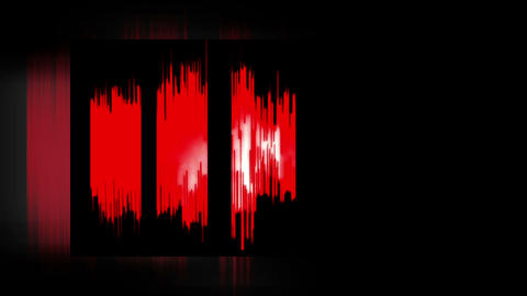 Waveform (Red and white) Animation