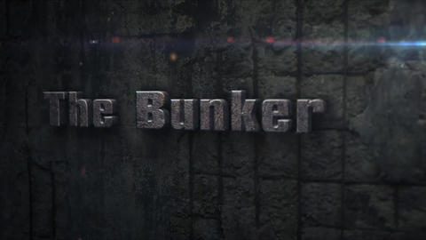 The Bunker - Concrete Bunker Logo Opener After Effects Template