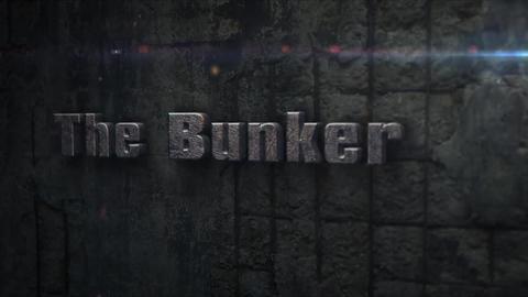 The Bunker - Concrete Bunker Logo Opener Plantilla de After Effects