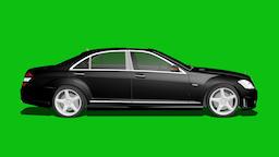 Green Screen Car Effects Footage