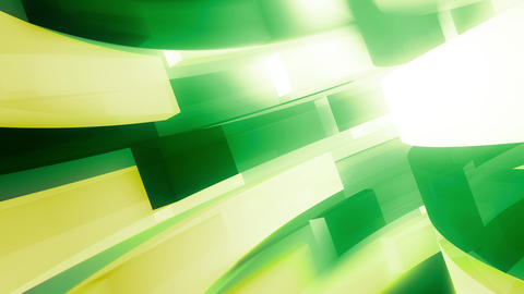 Green Abstract Motion Broadcast Edge Animation