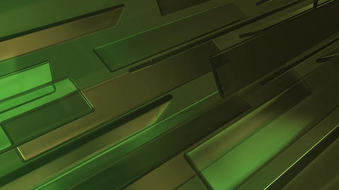 Green Moving Glass Motion Animation