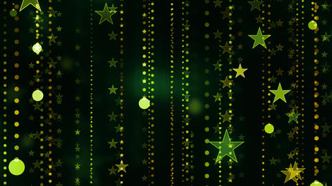 Elegant Stars Falling Animation