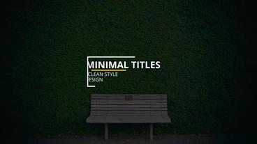 Epic Titles Premiere Pro Template