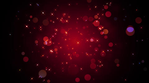 Sparkling Glitter Particles Animation