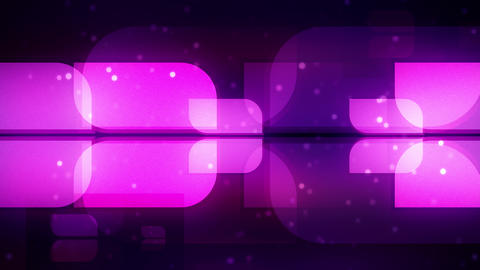 Purple Broadcast Shapes Animation