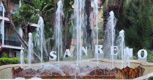 Fountain Of San Remo Italy GIF