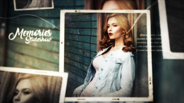 Photo Video Gallery Slideshow After Effects Template