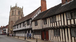 Shakespeare's Schoolroom & Guildhall Guild Chapel of the Holy Cross Stratford GIF