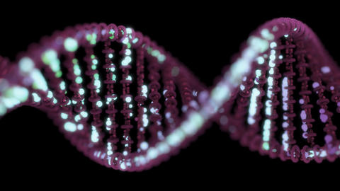DNA sequencing / editing concept Footage