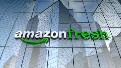 Editorial, Amazon Fresh building Animation