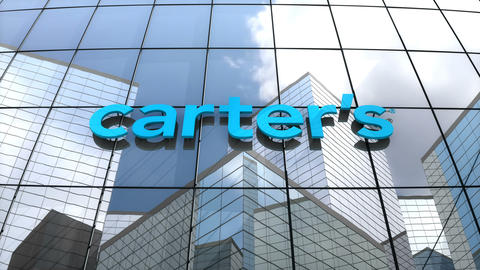 Editorial, Carter's Inc. logo on glass building Animation