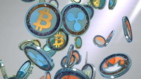 Editorial, Digital currency animation Animation