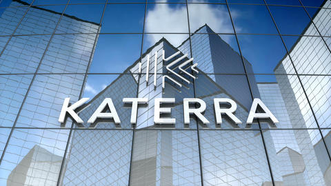 Editorial, Katerra logo on glass building Animation